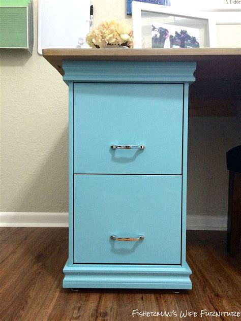 Hometalk Diy Filing Cabinet Desk Diy Desk With File Cabinets