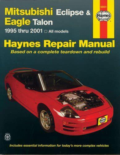 service and repair manuals 1998 eagle talon parking system mitsubishi eclipse eagle talon 1995 2001 haynes repair manuals at virtual parking store