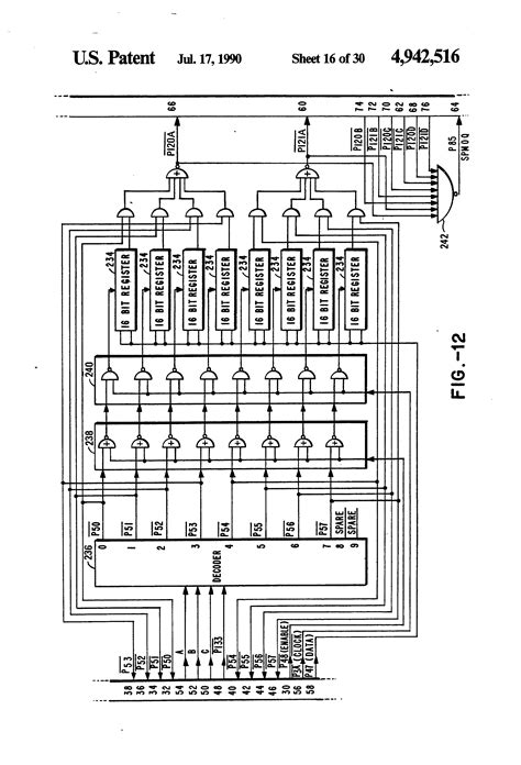 computer integrated circuit crossword patent us4942516 single chip integrated circuit computer architecture patents