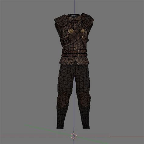blender tutorial armor creating skyrim armor in blender part 4 modifying an