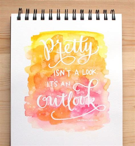 watercolour quotes tutorial best 25 watercolor hand lettering ideas on pinterest