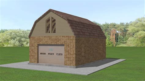 gambrel roof barn how to build a gambrel roof 7 steps with pictures wikihow