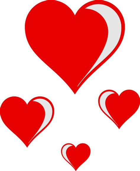 image with hearts hearts clipart free and graphics