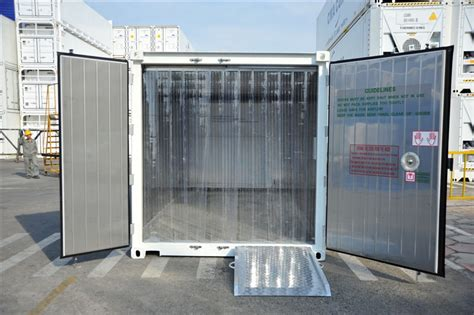 Freezer Container 20 hire rent refrigerated reefer container cold store room wa