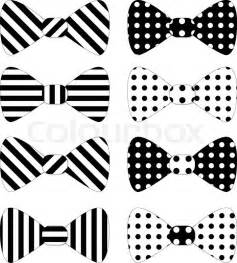 Set Of Red Vector Bow Ties Stock Vector Colourbox