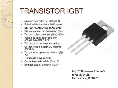 transistor vs mosfet vs igbt ficha t 233 cnica de transistores