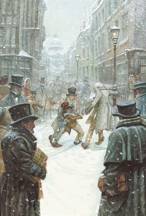 pj lynch gallery   christmas carol