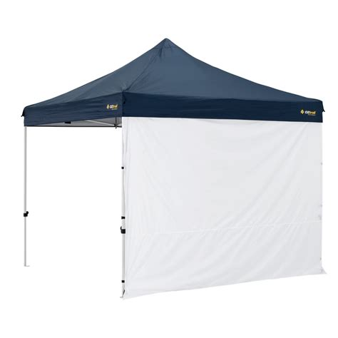 gazebo wall oztrail 3m solid wall deluxe gazebo side panel bunnings