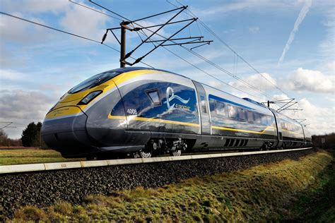 Ns York Top eurostar unveils the newest high speed in europe