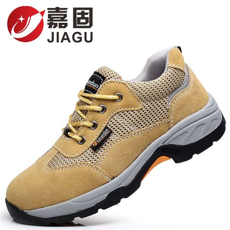 new comfortable puncture proof steel toe cap work summer