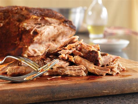 slow roasted pulled pork recipe dishmaps