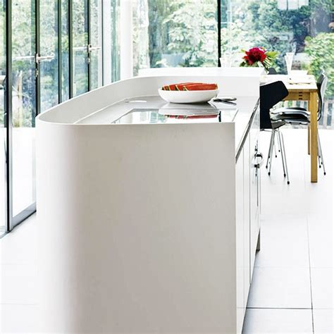 corian upstand white designer corian island with upstand kitchen island