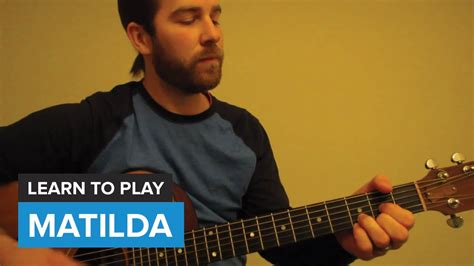 Handmade Alt J Lyrics - how to play quot matilda quot by alt j guitar chords lesson