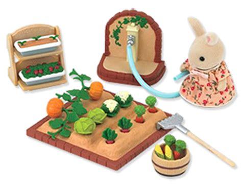 sylvanian families calico critters vegetable garden set