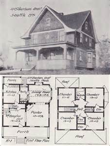 western homes floor plans 1908 eclectic plan voorhees architecture pinterest