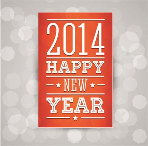new year design poster 2014 new year poster design vector vector festival free