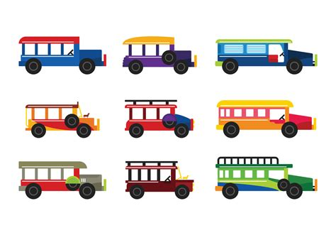 jeepney clipart jeepney vector free vector stock graphics