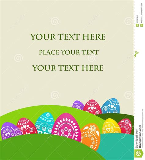 religious easter card templates free easter card template 2 stock photo image 13096910