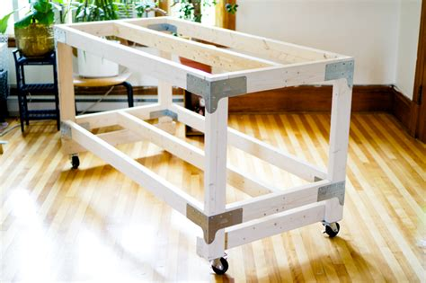 diy fabric cutting table sewing cutting table diy for your craft or sewing studio