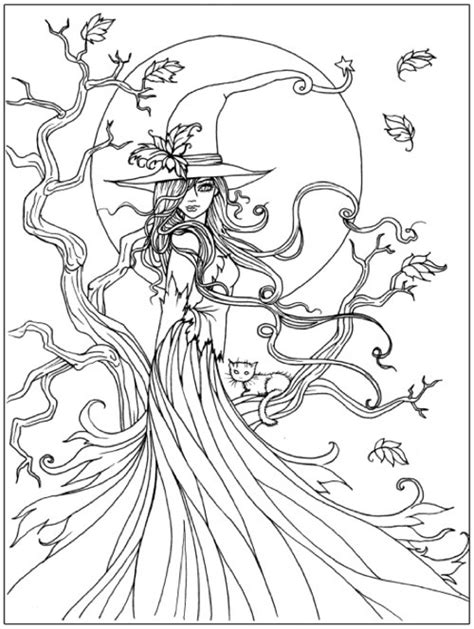 detailed coloring pages for halloween best halloween coloring books for adults cleverpedia