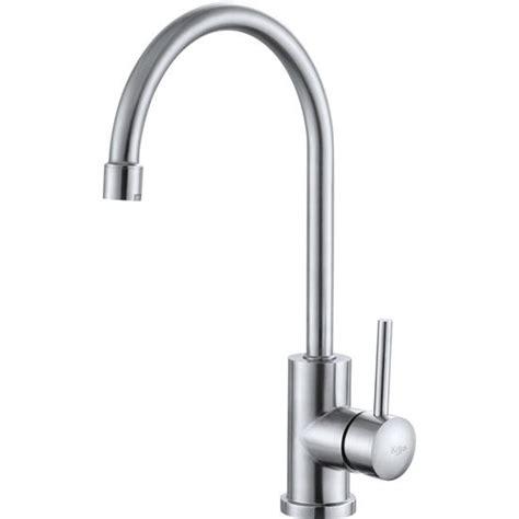 gooseneck kitchen faucet kraus single lever gooseneck kitchen faucet