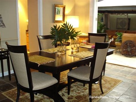 dining room table settings renew redo table setting and dining room recap 1