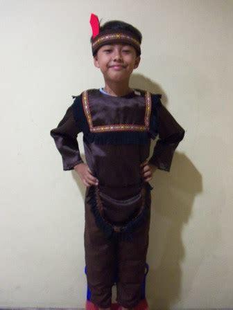 Baju Negara India Kostum Karnaval Baju Pawai ksa 023 kostum indian boy 2