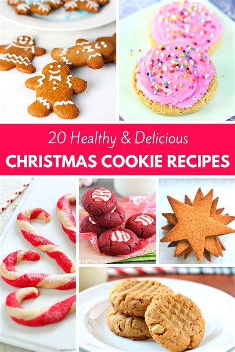 20 healthy delicious christmas cookie recipes pinkwhen