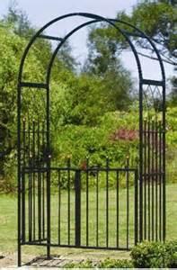 Garden Arch And Gate Uk Gardman Westminster Black Garden Metal Arch 07791
