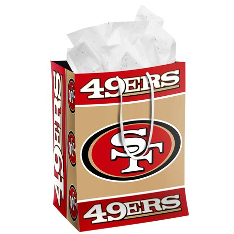 nfl gift bag san francisco 49ers