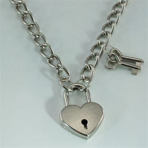 charms and pendants for jewelry padlock lock pendant charm choker necklace silver