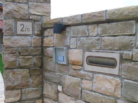 cassetta lettere incasso pezzi speciali e personalizzati in pietra di credaro