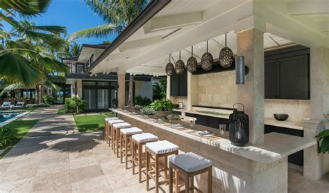 outdoor kitchen against house 23 creative outdoor wet bar design ideas