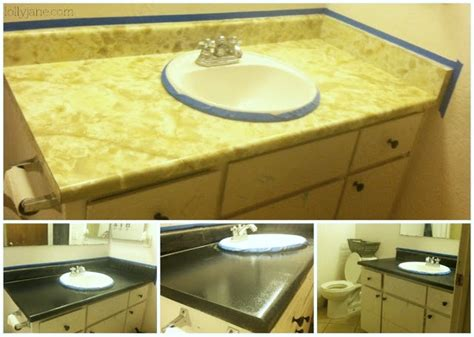 Redo Bathroom Countertop by Diy Granite Countertops