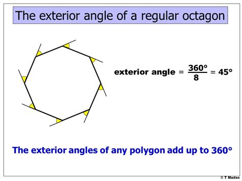 What Is The Interior Angle Of A Octagon by 169 T Madas Ppt