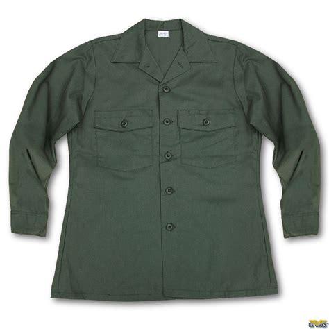 Military Fatigue Vintage OG 507 Utility Shirt
