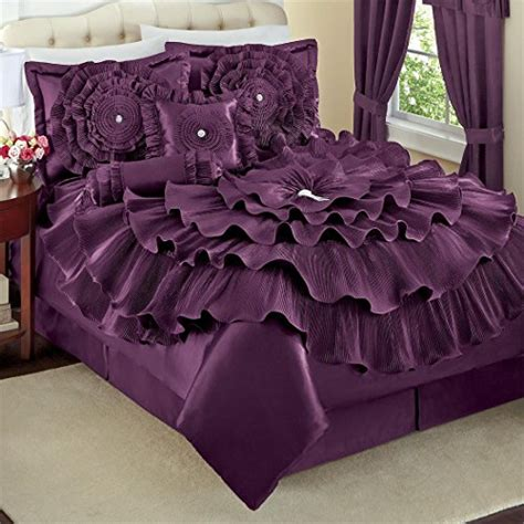 dark purple comforter cute and awesome purple comforter sets for your bedroom