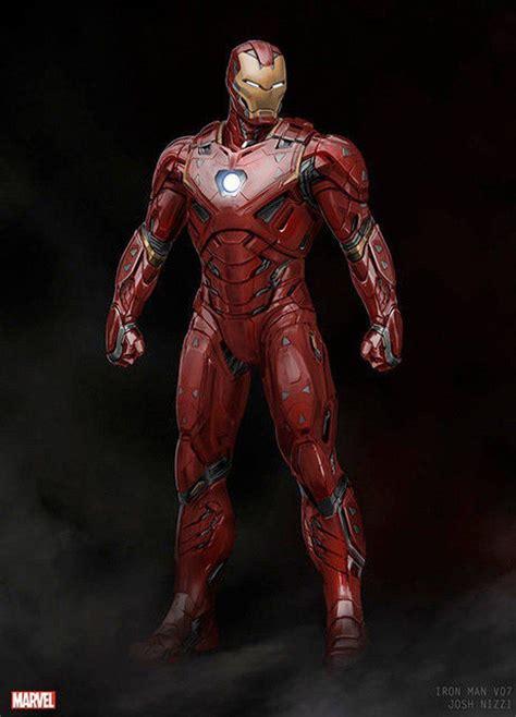 image result infinity war iron man suit concept art