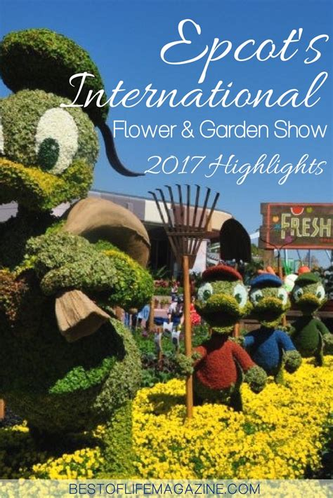 Epcot Flower And Garden Show Epcot S International Flower Garden Show 2017 Highlights The Best Of 174 Magazine