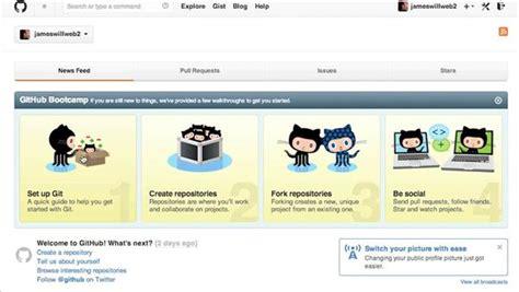 github website tutorial github for web designers