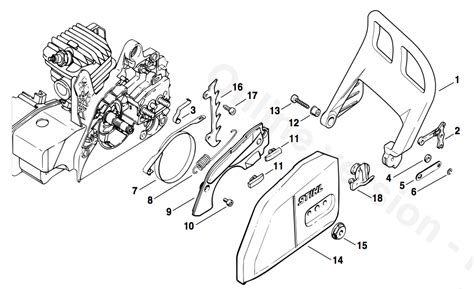 stihl ms250 chainsaw parts diagram stihl ms 250 c parts diagram website of loguveil