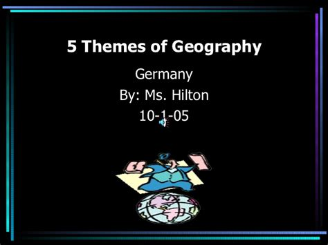 five themes of geography on germany 5 themes of geography
