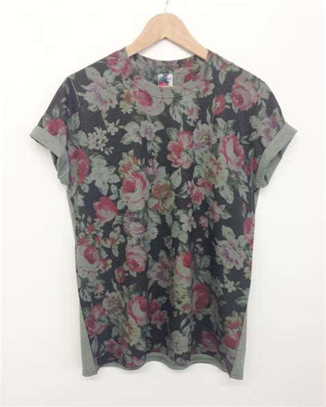 Shed Clothing by Floral All Print T Shirt The Clothing Shed
