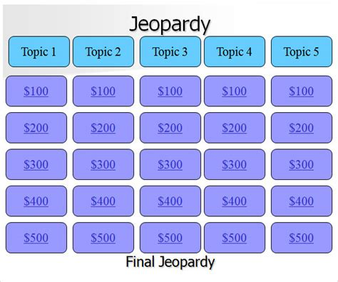 template for jeopardy jeopardy template 7 free pdf ppt
