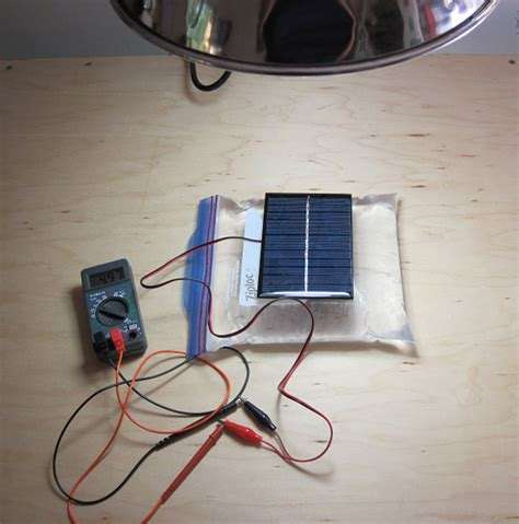 cool    electricity solar cell power output