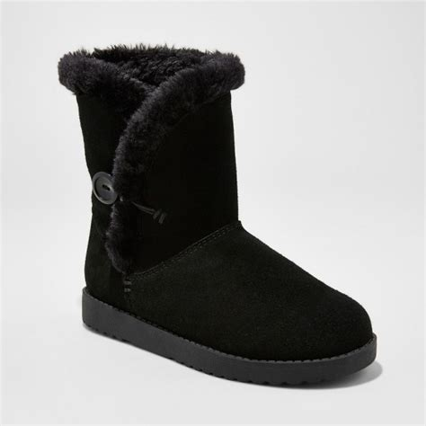 target womens winter boots s daniah suede winter boots mossimo supply