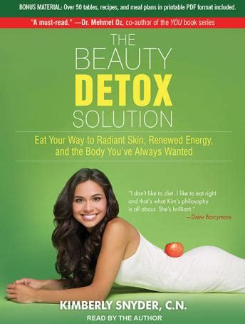 Radiant Skin Detox Diet by Listen To Detox Solution Eat Your Way To Radiant