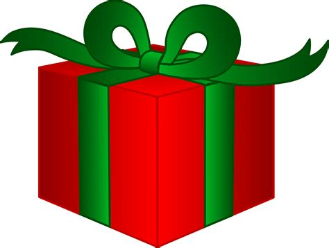 fancy christmas present free clip art