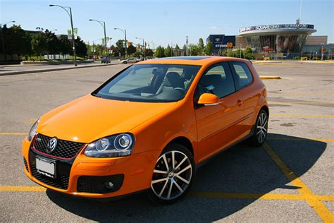 orange volkswagen gti vw gti fahrenheit 37 build