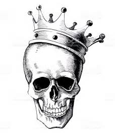 skull and crown stock vector art 512165660 istock